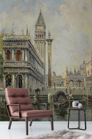 3D retro european style oil painting wall mural wallpaper 96