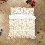 3D Hand Drawn Animal Elephant Forest Quilt Cover Set Bedding Set Duvet Cover Pillowcases 55