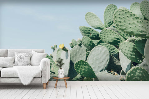 3D cactus wall mural wallpaper 109