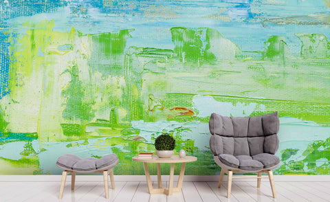 3D Abstract Oil Painting Wall Mural Wallpa 23