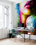 3D Oil Painting Colorful Beauty Wall Murals 235 - Jessartdecoration