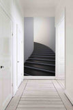 3D step pattern wall mural wallpaper 43