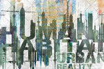 3D Abstract City Buiding Wall Mural Wallpaper 96