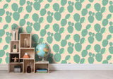 3D Green Cactus Pattern Wall Mural Wallpaper 78