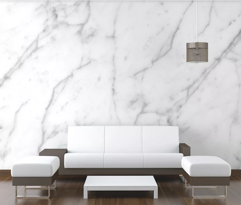 3D White Marble Wall Mural Wallpaper 2438