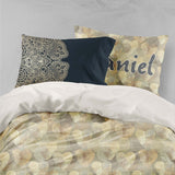 3D Yellow Circle Pattern Quilt Cover Set Bedding Set Pillowcases 95