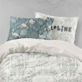 3D Gray Pattern Quilt Cover Set Bedding Set Pillowcases 94