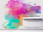 3D watercolor wall mural wallpaper 87