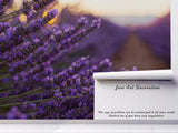 3D Lavender Wall Mural Wallpaper 29