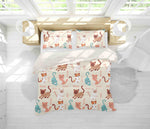 3D Yellow Cat Kitty Quilt Cover Set Bedding Set Pillowcases 25