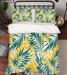 3D Yellow Leaves Quilt Cover Set Bedding Set Pillowcases 148