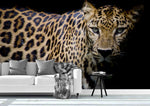 3D Leopard Graphic Wall Mural Wallpaper 55