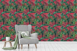 3D Oil Painting Floral Leaves Plant Wall Mural Wallpaper LXL 1399
