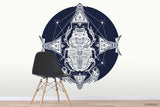 3D Egyptian Scarab Wall Mural Wallpaper WJ 3018