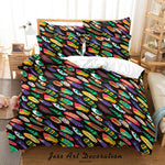 3D Abstract Geometric Pattern Quilt Cover Set Bedding Set Duvet Cover Pillowcases 39