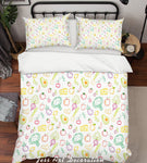 3D Color Cartoon Food Pattern Quilt Cover Set Bedding Set Pillowcases  80