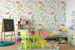 3D Green Leaves Wall Mural Wallpaper 88