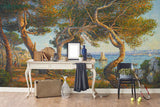3D seaside scenery oil painting wall mural wallpaper 71