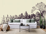 3D Simple Landscape Painting Wall Mural Wallpaper 14