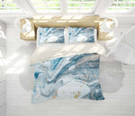 3D Blue Marble Texture Quilt Cover Set Bedding Set Pillowcases 112