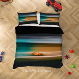 3D Colorful Racing Car Quilt Cover Set Bedding Set Duvet Cover Pillowcases LXL 191