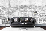 3D Architecture Tower Building Wall Mural Wallpaper WJ 2052