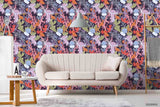 3D Jellyfish Starfish Colorful Coral Wall Mural Wallpaper LXL 1293