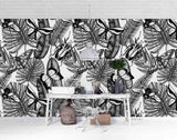 3D Hand Sketching Plant Butterfly Insect Wall Mural Wallpaper LXL 1486