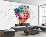 3D Colorful Oil Painting Beauty Wall Murals 209