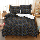 3D Abstract Geometric Pattern Quilt Cover Set Bedding Set Duvet Cover Pillowcases 86