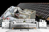 3D Astronaut Space Wall Mural Wallpaper SF96