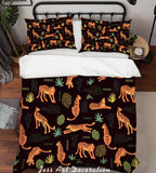 3D Tiger Pattern Quilt Cover Set Bedding Set Pillowcases  52