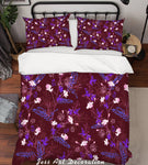 3D Color Flowers Pattern Quilt Cover Set Bedding Set Pillowcases  50