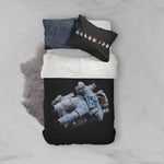 3D Space Astronaut Quilt Cover Set Bedding Set Pillowcases 77
