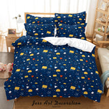 3D Abstract Geometric Pattern Quilt Cover Set Bedding Set Duvet Cover Pillowcases 96