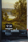 3D Rural Ranch Oil Painting Wall Mural Wallpaper 93