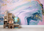 3D Pink Abstract Art Wall Mural Wallpaper   31