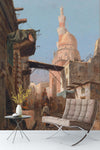 3D european architecture oil painting wall mural wallpaper 98