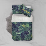 3D Tropical Palm Leaves Quilt Cover Set Bedding Set Pillowcases 33