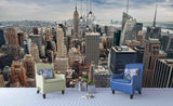 3D New York City Wall Mural Wallpaper SF11