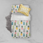 3D Colorful Pineapples Quilt Cover Set Bedding Set Pillowcases 31