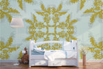 3D Bronzing Pattern Wall Mural Wallpaper 71