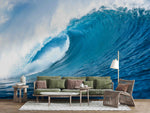 3D Nature Wave Spindrift Wall Mural Wallpaper WJ 2129