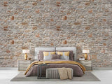 3D Vintage Brick Pattern Wall Mural Wallpaper WJ 2109