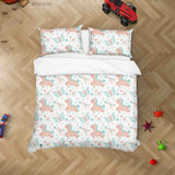 3D Hand Drawn Animal Unicorn Butterfly Quilt Cover Set Bedding Set Duvet Cover Pillowcases 116 LQH