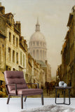 3D european architecture oil painting wall mural wallpaper 83