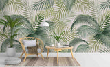 3D Palm Tree Wall Mural Wallpaper A153 LQH
