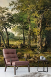 3D nordic graze oil painting wall mural wallpaper 100