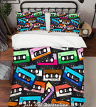 3D Color Magnetic Tape Animals Quilt Cover Set Bedding Set Pillowcases  44