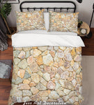 3D Stone Arrangement  Quilt Cover Set Bedding Set Pillowcases  85